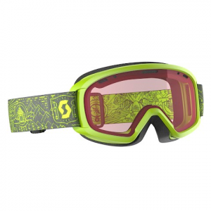 Scott Youth Jr Witty Snow Sports Goggle - Yellow / Enhancer
