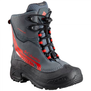 Columbia Youth Bugaboot Plus Iv Omni - Heat Boot - Graphite / Bright Red