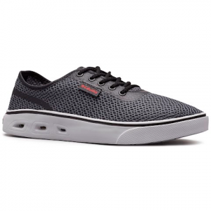 Columbia Men ' S Spinner Vent Shoes - Graphite / Mountain Red