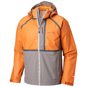 Columbia Men ' S Outdry Rogue Interchange Jacket - Boulder / Bright Copper Heather