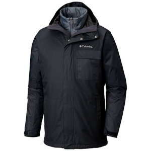 Columbia Men ' S Ten Falls Interchange Jacket ( Extended Sizes ) - Black