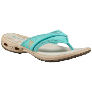 Columbia Women ' S Kambi Vent Sandals - Gulf Stream / Ancient Fossil