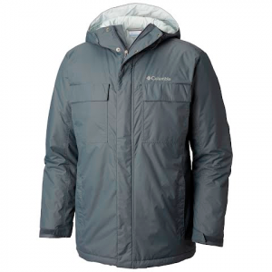 Columbia Men ' S Ten Falls Jacket ( Extended Sizes ) - Graphite