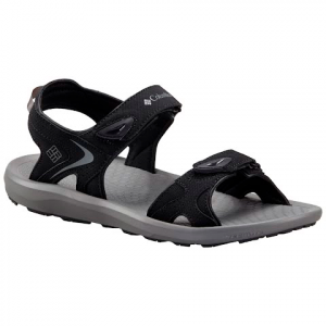 Columbia Men ' S Techsun Sandal - Black / Titanium