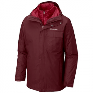 Columbia Men ' S Ten Falls Interchange Jacket - Elderberry
