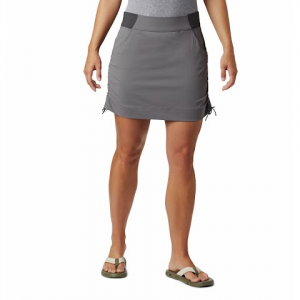 Columbia Women ' S Anytime Casual Skort - Light Grey