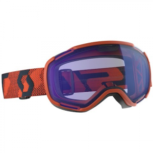 Scott Faze Ii Snow Sports Goggle - Orange / Illuminator Blue Chrome