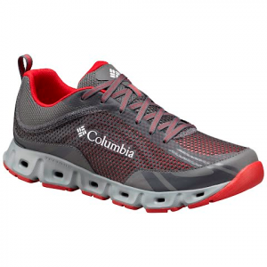 Columbia Men ' S Drainmaker Iv Shoes - City Grey / Mountain Red