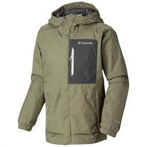 Columbia Youth Boy ' S Splash S ' More Rain Jacket - Cypress / Grill
