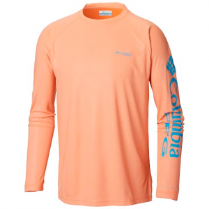 Columbia Men ' S Terminal Deflector Long Sleeve Shirt - Solar / Riptide