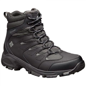 Columbia Men ' S Gunnison Lightweight Winter Boot - Shark / Charcoal