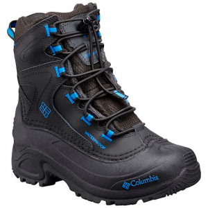 Columbia Boys Youth Bugaboot Iii Winter Boot - Black / Super Blue