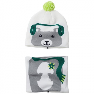 Columbia Youth Toddler Snow More Beanie And Gaiter Set - 100whitebear