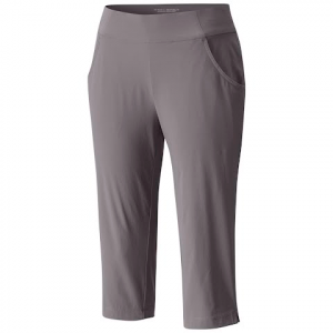 Columbia Women ' S Anytime Casual Capri ( Extended Sizes ) - Light Grey