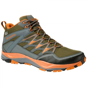 Columbia Men ' S Wayfinder Mid Outdry Shoe - Nori / Bright Copper