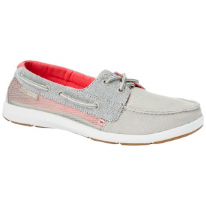 Columbia Women ' S Delray Loco Pgf Shoe - Ancient Fossil / Red Coral