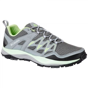 Columbia Women ' S Wayfinder Shoe - Graphite / Jade Lime