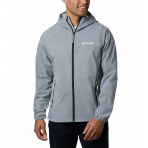 Columbia Men ' S Heather Canyon Jacket - Grey Ash Heather