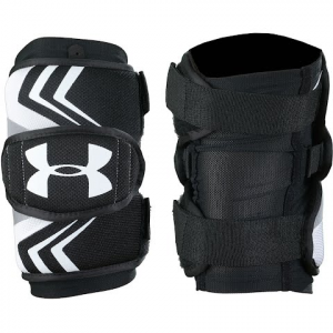 Under Armour Ua Strategy Lacrosse Arm Pads - Black
