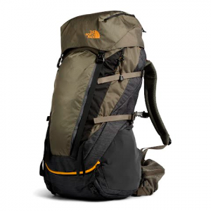 The North Face Terra 55 Internal Frame Backpack - Tnf Dark Grey Heather / New Taupe Green