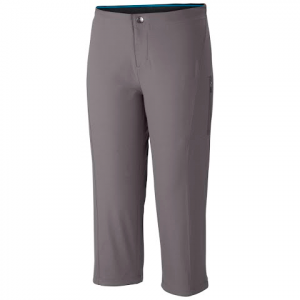 Columbia Women ' S Just Right Ii Capri - Light Grey