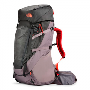 The North Face Women ' S Terra 65 Internal Frame Pack - Rabbit Grey / Asphalt Grey