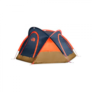 The North Face Homestead Domey 3 Tent - Shady Blue / Papaya Orange