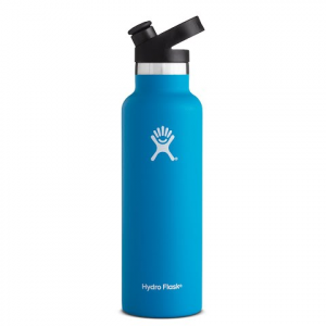 Hydro Flask 21 Oz Standard Mouth Water Bottle With Sport Cap - Pacific
