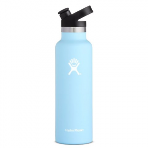 Hydro Flask 21 Oz Standard Mouth Water Bottle With Sport Cap - Frost
