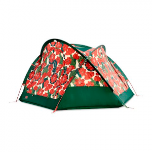 The North Face Homestead Domey 3 Tent - Vintage White / Botanical Green