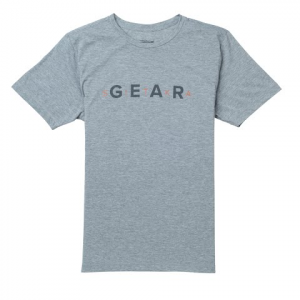 Sitka Gear Men ' S Gear Tee Short Sleeve - Grey Heather