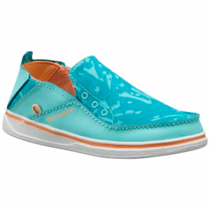 Columbia Little Kids ' Pfg Bahama Shoes - Gulf Stream / Peach