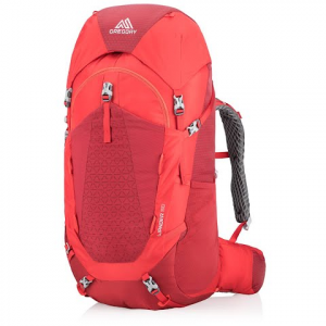 Gregory Youth Wander 50 Internal Frame Pack - Fiery Red