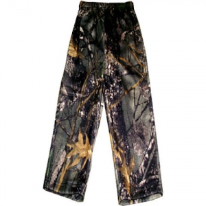 World Famous Youth Cotton Pull – On Pant – Burly Camo