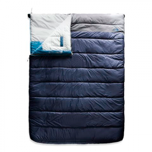 The North Face Dolomite Double 20f /- 7c Sleeping Bag - Cosmic Blue / Zinc Grey