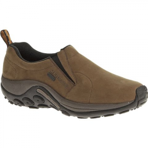 Merrell Men ' S Jungle Moc Nubuck Waterproof Shoes - Brown