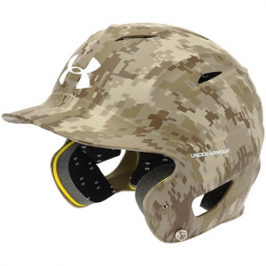 Under Armour Digital Camo Batting Helmet - Matte Camo