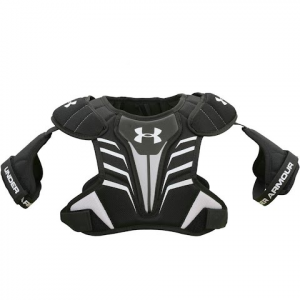 Under Armour Ua Strategy Lacrosse Shoulder Pads - Black
