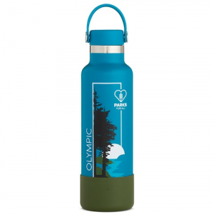 Hydro Flask National Park Foundation Limited Edition 21 Oz Standard Mouth Water Bottle - Olympic
