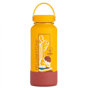 Hydro Flask National Park Foundation Limited Edition 32 Oz Wide Mouth Water Bottle - Yellowstone