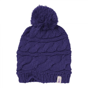 The North Face Women ' S Triple Cable Pom Beanie - 7wrwldthr / Fddrs / Wld