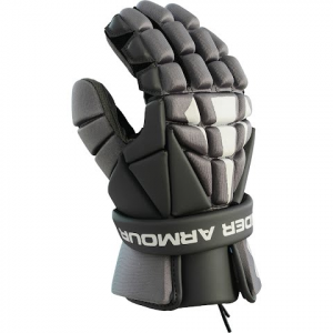 Under Armour Ua Strategy Lacrosse Gloves - Black