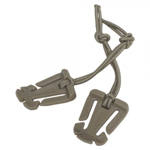 Jakt Gear Pack Rats Shoulder Strap Retainers ( 2 Pack ) - Coyote