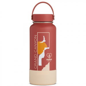 Hydro Flask National Park Foundation Limited Edition 32 Oz Wide Mouth Water Bottle - Grand Canyon