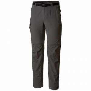 Columbia Mens Silver Ridge Convertible Pant - Grill