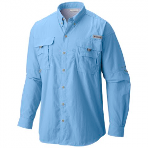 Columbia Men ' S Pfg Bahama Ii Long Sleeve Shirt - Spring