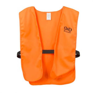Girls With Guns Women ' S Blaze Hunting Vest – Blaze Orange