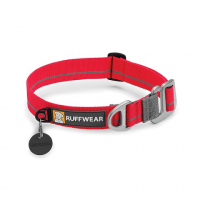 Ruff Wear Crag Collar - Red Currant