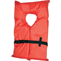 Kent Watersports Type Ii Adult Life Jacket - Orange