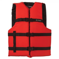 Onyx Adult L / 3xl General Purpose Pfd Vest - Red / Black